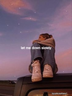 Let me down slowly-Alec Benjamin 🌠