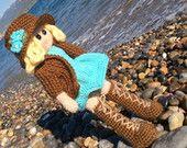 Amigurumi Handmade Doll, Crochet Doll, Stuffed Toy. A unique gift for kids & babies.