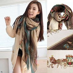 New Fashion Women Lady Girls Soft Long Carriage Scarf Large Wrap Shawl Scarves,170*80cm