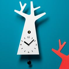 Oggettistica per la casa: orologio a cucù Tree
