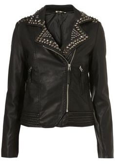 Studded Jacket from Topshop