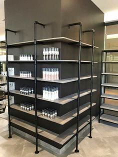 Sami decor and design, Kempton Park, Gauteng. Custom made steel, wood and galv pipe furniture for home and business. Industrial Furniture, Wood Furniture, Industrial Shelving Units, Plywood Shelves, Maputo, Shop Storage, Liquor Store, Grey Wash, Handmade Furniture