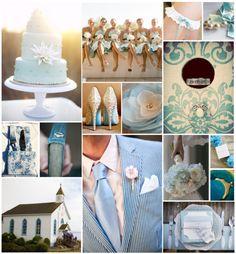 something blue! #wedding #blue #cake