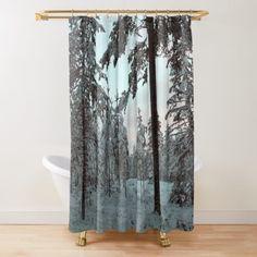 'Summer Magic ' Shower Curtain by Niina Niskanen Cozy House, Shower Curtains, Bed Sheets, Original Paintings, Photographs, Wall Art, Nature, Artwork, Prints