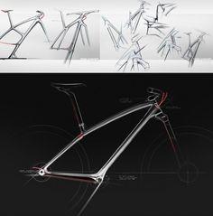 Trek Brand Language sketches by Michael Hammond