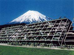 Kiyonori Kikutake, Statiform Structure Module, 1972.