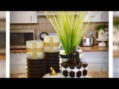 DIY Coffee Bar/Coffee Station update simple but Elegant Kitchen Island Decor August 31, 2017 - YouTube