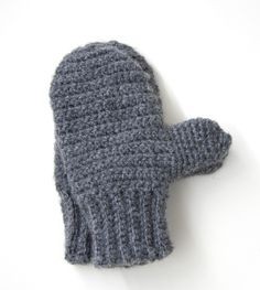 Family Mittens Pattern (Crochet)