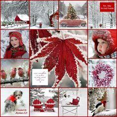 '' Winter in Red '' by Reyhan Seran Dursun
