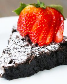 Try This Delicious Swedish Sticky Chocolate Cake Called Kladdkaka