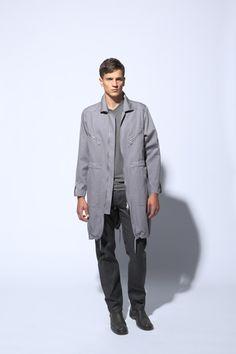 fashion boiler suit coat | five pocket jeans