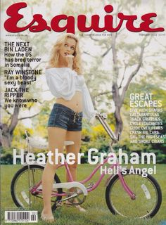 Year of issue: 2002 Cover Star: Heather Graham Within 6 pages with Ray Winstone 3 pages with Anthony Bourdain 7 pages with Heather Graham Condition: Good. Hollywood Fashion, Hollywood Actresses, Heather Graham Hot, Ray Winstone, Esquire Uk, Mel Gibson, Michelle Rodriguez, Christina Hendricks, Cover Photos
