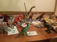 #dinovember Dino art class