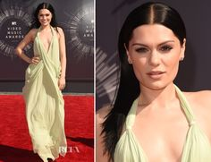 Jessie J In Vintage Halston - 2014 MTV Video Music Awards #VMA - Red Carpet Fashion Awards