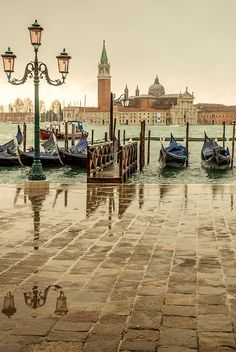 Rainy Day, Venice, Italy