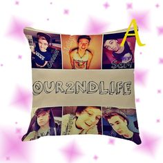Our Second Life Pillow Cover Case by Globbie on Etsy