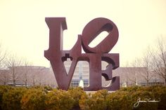 Fine Art Print of the #LOVE Sculpture in #Indianapolis, Indiana photo by Cardelucci