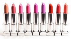 Maybelline Color Sensational Rebel Bloom Lipsticks
