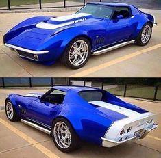Custom Muscle Cars, Chevy Muscle Cars, Custom Cars, Chevrolet Corvette, 1969 Corvette, Pontiac Gto, Supercars, Classic Corvette, Roadster