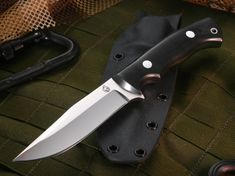 The All Purpose Fixed Blade Knife is made in Arkansas and designed for hard use. It is a full tang field knife perfect for all-purpose duty carry, tactical carry, camping and hunting. This all-purpose knife is 9 3/4 inches in length and weighs 9 oz. This handmade knife is designed with the customer in mind and comes with a high-quality black Kydex sheath with a belt loop. It also has a lanyard hole which provides adequate ways to carry and secure this blade. This All Purpose Fixed Blade…