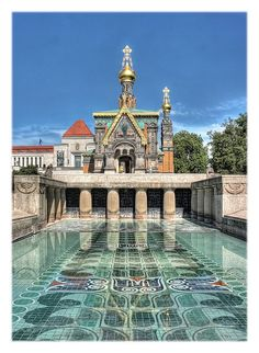 Russische Kapelle #Mathildenhöhe, #Darmstadt Germany .