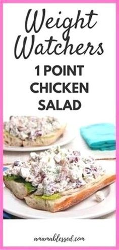 Weight Watchers Chicken Salad – Low Points and Delicious! Weight Watchers Chicken Salad – Low Points and Delicious!,Good eats Weight Watchers Chicken Salad Recipe Related Romantic Wedding Hairstyle Trends in 2019 Weight Watchers Snacks, Weight Watchers Chicken Salad Recipe, Salade Weight Watchers, Poulet Weight Watchers, Weight Watcher Dinners, Chicken Salad Recipes, Low Calorie Chicken Salad Recipe, Weight Watcher Points, Salad Chicken