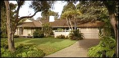 Thank you for being a friend...Golden Girls house - You can find it 245 North Saltair Avenue, Los Angeles CA. The property was built in 1955.