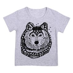 >> Click to Buy << 1 to 6 Years Baby Boy Short T-Shirt Summer Boy Cotton Soft Cartoon Animal Printed Short Sleeve T-Shirt Top #Affiliate