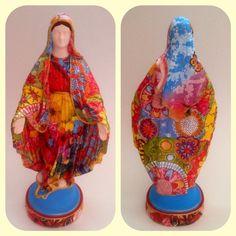 """""""Nossa Senhora das Graças #art #arte #artesanato #artereligiosa #brasil #feitoamao #católicos #decoração #decor #estampas #fe #fé #graças #handmade #mae…"""""""