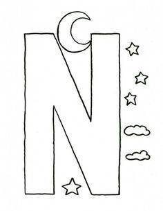 62 best letter n crafts images on pinterest letter n crafts day