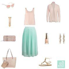 Casual Outfit: Mit Pfefferminz bin ich deine Prinzessin. Mehr zum Outfit unter: http://www.3compliments.de/outfit-2015-08-07-a