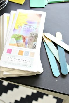 Update on My Custom Colors with Heirloom Traditions Paint -