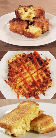 Fried mac and cheese, waffled mac and cheese, grilled mac and cheese. We're just getting warmed up. Check out the amazing things you can do with macaroni and cheese :) http://www.cheeserank.com/culture/mac-and-cheese-hacks/