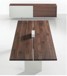Tix Solid Wood Conference Table From Davis Furniture