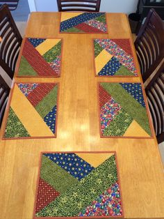 Placemats for craft crawl