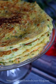 recipe from the world . - Vegetable pancakes – simple recipe – … recipe from the world … -