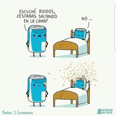 58 ideas for humor en espanol learn spanish chistes Cute Jokes, Cute Puns, Funny Puns, Really Funny Memes, Stupid Funny Memes, Funny Cartoons, Funny Comics, Haha Funny, Hilarious