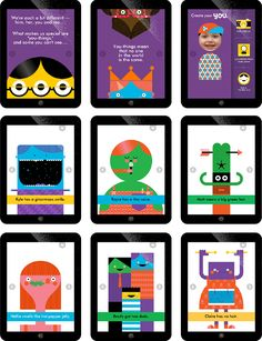 """Wee Society creates playful, colorful experiences to bring parents and their kids closer together. Office developed Wee Society's name, brand strategy, visual identity, website, stationery system, voice, characters, apps, and products. """"We're moms and d…"""