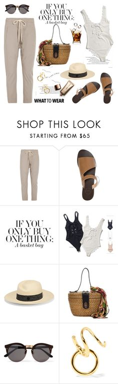 """""""My Mood Today"""" by lidia-solymosi ❤ liked on Polyvore featuring Bassike, All Tomorrow's Parties, Rosantica, Maison Michel, Patricia Nash, Illesteva, Maria Black and Nude by Nature"""