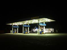 Gas Station by dkuchars, via Flickr