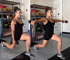 Save Time with Combination Exercises. Try this time-saving, body-sculpting, fat-burning workout!