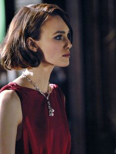 Kiera Knightly. Coco Chanel commercial..I'm obsessed with this woman's face!