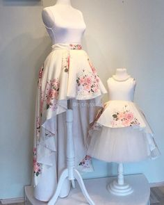 Making mommy & me dreams come true ☺️ Just released this gorgeous Rosalina Dress (for baby) and mommy skirt on our website! ittybittytoes.com @ittybittytoes Made a red roses version of it as well! ❤️ can't wait to take some pics!