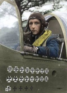 polish RAF pilot One of the Many Incredibly Brave Polish Fighter Pilots Who Served in the British Royal Air Force after Poland Was Defeated and Occupied by Nazi Germany World History, World War Ii, Photo Avion, Battle Of Britain, Nose Art, Fighter Pilot, Royal Air Force, Luftwaffe, Military History