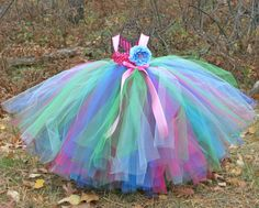 tutu flower girl dresses for weddings | ... Flower-Girl-Dress-Birthday-Dress-Empire-Waist-Custom-Color-Tutu-Dress