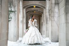 Sophisticated and Elegant Wedding in Chicago, Illinois #bridalGown #wedding #bride Photography by: Rush Photography