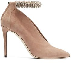 64f0f779d6e6 JIMMY CHOO Lux 100 suede ankle boots