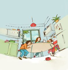 Interview with children's book illustrator and animator Qin Leng - Friday Illustrated