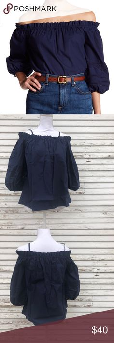 Soprano lace trim off the shoulder top NWOT. Questions and offers welcome! Soprano Tops Blouses
