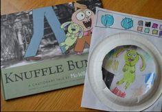 Knuffle Bunny book and washing machine